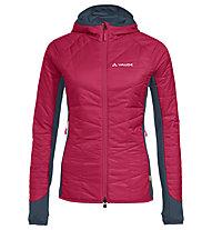 Vaude Sesvenna III - giacca con cappuccio - donna, Red/Grey