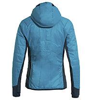 Vaude Sesvenna III - giacca con cappuccio - donna, Blue