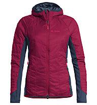 Vaude Sesvenna III - giacca con cappuccio - donna, Red