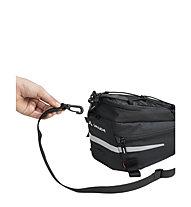 Vaude Silkroad S - Gepäckträgertasche, Black