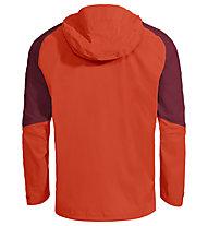 Vaude Simony 2,5L - giacca antipioggia con cappuccio - uomo, Red
