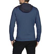 Vaude Simony Fleece Jacket - Fleecejacke mit Kapuze Herren, Blue