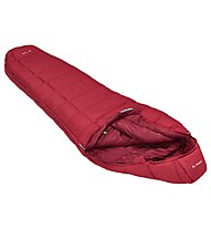 Vaude Sioux 1000 SYN - sacco a pelo sintetico, Red