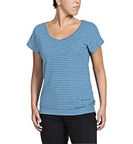 Vaude Skomer - T-shirt - donna, Light Blue