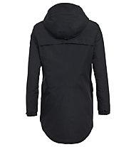 Vaude Skomer Wool Parka - Kapuzenjacke - Damen, Black