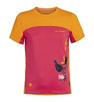 Vaude Solaro II - T-Shirt - Kinder, Pink