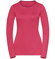 Vaude Sveit LS - maglia a maniche lunghe - donna, Pink