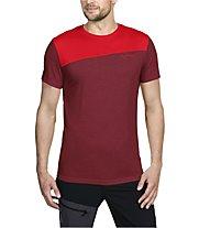 Vaude Sveit Shirt Herren Wandershirt kurzärmelig, Red/Dark Red