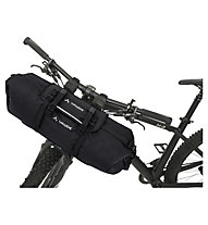 Vaude Trailfront - borsa manubrio Bikepacking, Black