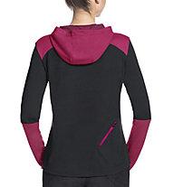 Vaude Tremalzo LS Shirt - maglia bici - donna, Black