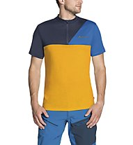 Vaude Tremalzo Shirt IV - Radtrikot - Herren, Orange/Light Blue