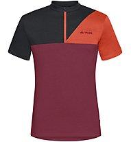 Vaude Tremalzo Shirt IV - Radtrikot - Herren, Red/Red