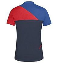 Vaude Tremalzo Shirt IV - Radtrikot - Herren, Blue/Red