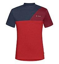Vaude Tremalzo Shirt IV - Radtrikot - Herren, Red/Blue