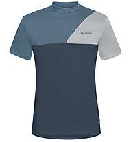 Vaude Tremalzo Shirt IV - Radtrikot - Herren, Blue/Grey