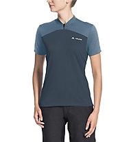 Vaude Women's Tremalzo Shirt IV - Radtrikot - Damen, Blue