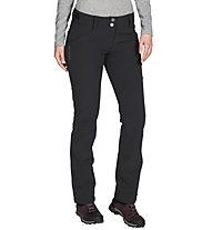 Vaude Trenton III - pantaloni softshell - donna, Black