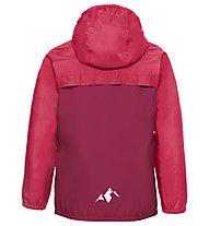 Vaude Turaco - giacca antipioggia - bambino, Red