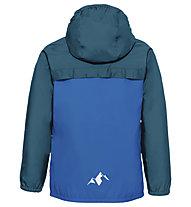 Vaude Turaco - giacca antipioggia - bambino, Light Blue