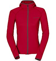 Vaude W Basodino Hooded Jacket IIDamen Fleecejacke, Red