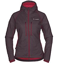 Vaude W Bormio Jacket Damen Isolationsjacke, Red