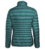 Vaude W Kabru Light IV - giacca piumino - donna, Green