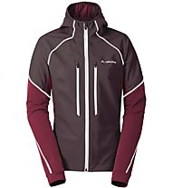 Vaude W larice Jacket Giacca Softshell Donna, Red