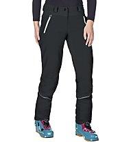 Vaude Larice - Pantaloni lunghi Softshell scialpinismo - donna, Black