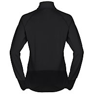 Vaude Livigno - Fleecepullover mit kurzem Reißverschluss - Damen, Black