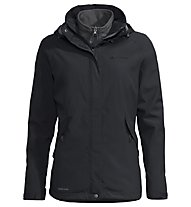 Vaude W Rosemoor 3in1 - Trekkingjacke - Damen, Black/Grey