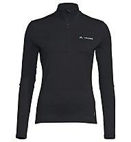 Vaude Livigno II - Langarmshirt - Damen, Black