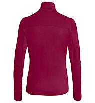 Vaude Livigno II - Langarmshirt - Damen, Red/Red