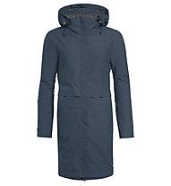 Vaude Mineo Coat II - Kapuzenjacke - Damen, Blue