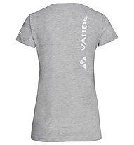 Vaude W Brand - T-shirt - donna, Grey