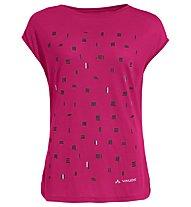 Vaude Wo Tekoa - T-Shirt - Damen , Pink
