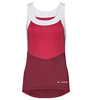 Vaude Women's Advanced SL Tricot III - Radtrikot ärmellos - Damen, Red