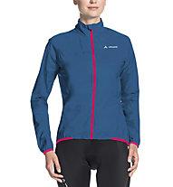 Vaude Air III - giacca bici - donna, Blue/Pink