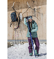 Vaude Back Bowl II - Hardshellhose Skitouren - Damen, Fuchsia