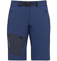 Vaude Women's Badile Shorts Damen Wander- und Trekkinghose kurz, Blue
