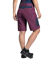 Vaude Craggy Shorts - Radhose MTB - Damen, Red/Blue