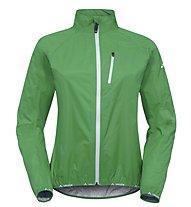 Vaude Women`s Drop Jacket III Giacca antipioggia ciclismo donna, Grasshopper