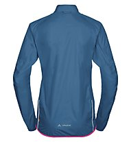 Vaude Drop III - giacca bici - donna, Blue/Pink