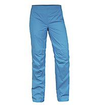Vaude Women`s Drop Pants II Pantaloni lunghi antipioggia donna, Teal Blue
