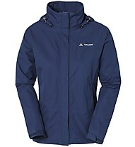 Vaude Women's Escape Light Jacket - Hardshelljacke mit Kapuze Damen, Blue