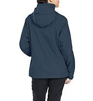 Vaude Escape Light - giacca hardshell - donna, Dark Blue