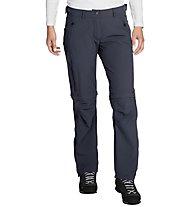 Vaude Women's Farley Stretch ZO T-Zip Pants Damen Wander- und Trekkinghose, Dark Blue