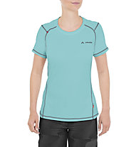 Vaude Hallett - Kurzarm Wander- und Trekkingshirt - Damen, Light Blue