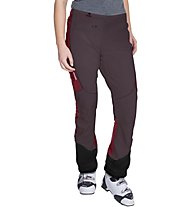 Vaude Larice Light Pants Pantaloni lunghi scialpinismo donna, Red