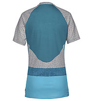 Vaude Women's Ligure Shirt - Radtrikot MTB - Damen, Light Blue/Grey