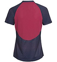 Vaude Women's Ligure Shirt - Radtrikot MTB - Damen, Blue/Red